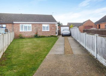 Thumbnail 2 bed semi-detached bungalow for sale in Grove Road, Martham, Great Yarmouth