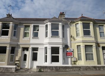 Thumbnail 4 bed terraced house for sale in St. Levan Road, Plymouth