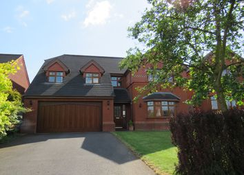 Thumbnail 4 bed detached house for sale in Churchill Close, Uttoxeter