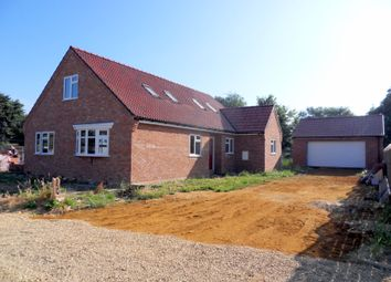 Thumbnail 3 bed detached house for sale in Abbotts Court, Isle Road, Outwell, Wisbech, Cambridgeshire