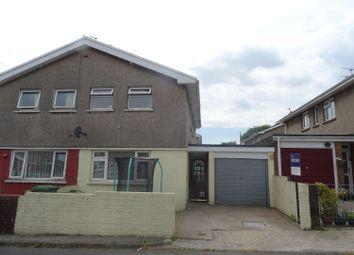 Thumbnail 3 bed semi-detached house for sale in Erw Wen, Pencoed, Bridgend