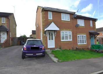 Thumbnail 3 bed semi-detached house for sale in Elizabeth Close, Wellingborough, Northamptonshire, Na