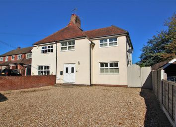 Thumbnail 4 bed semi-detached house for sale in Church Crookham, Fleet
