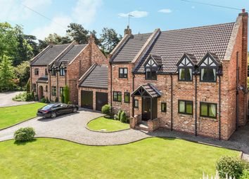 Thumbnail 4 bed detached house for sale in Wighill Lane, Tadcaster, North Yorkshire