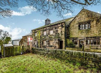Thumbnail 2 bed terraced house for sale in Lane Ends, Norland, Sowerby Bridge, West Yorkshire