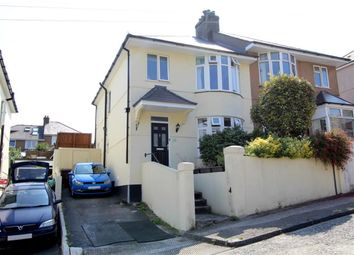 Thumbnail 3 bed semi-detached house for sale in Hollycroft Road, Higher Compton, Plymouth