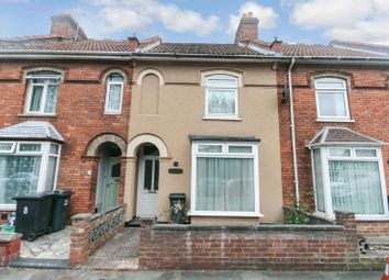 Thumbnail 3 bed terraced house for sale in Rosebery Avenue, Bridgwater