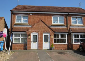 Thumbnail 2 bed semi-detached house for sale in Shinewater Park, Kingswood, Hull
