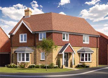 Thumbnail 4 bedroom semi-detached house for sale in Wrecclesham Hill, Wrecclesham, Farnham, Surrey