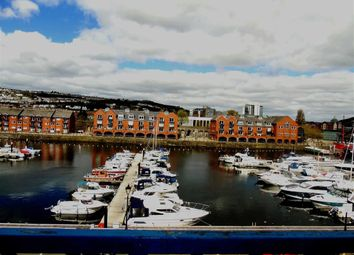 Thumbnail 1 bed flat for sale in Empress House, Marina, Swansea