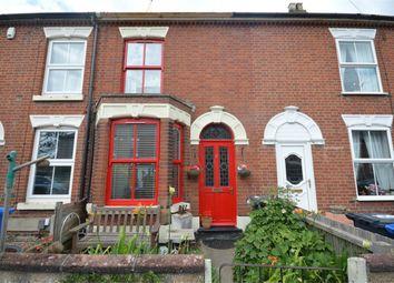 Thumbnail 3 bed terraced house for sale in Geoffrey Road, Norwich