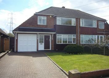Thumbnail 3 bed semi-detached house to rent in Linthouse Lane, Wednesfield, Wolverhampton, West Midlands