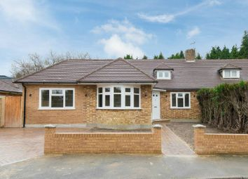Thumbnail 4 bed semi-detached bungalow for sale in Chandos Close, Little Chalfont, Amersham