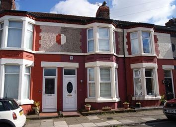 Thumbnail 3 bed terraced house to rent in Lichfield Road, Wavertree, Liverpool