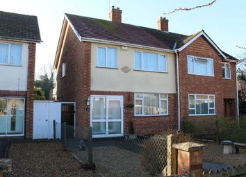 Thumbnail 3 bed semi-detached house for sale in Duston Road, Duston, Northampton