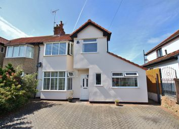 Thumbnail 3 bed semi-detached house for sale in Elmwood Drive, Heswall, Wirral