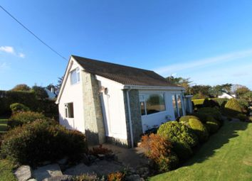 Thumbnail 4 bed detached bungalow for sale in Lon Tarw, Bull Bay