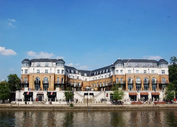 Thumbnail 3 bed flat for sale in Thames Edge Court, Clarence Street, Staines, Middlesex