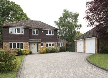Thumbnail 4 bedroom detached house for sale in Alcot Close, Crowthorne, Berkshire