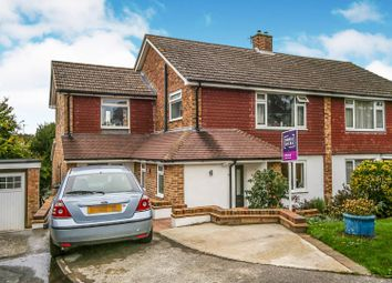 Thumbnail 4 bed semi-detached house for sale in Knights Close, Tunbridge Wells