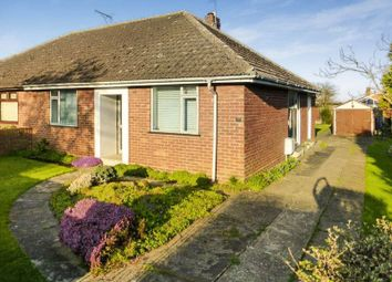 Thumbnail 2 bedroom semi-detached bungalow for sale in Highland Way, Lowestoft