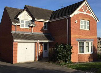 Thumbnail 4 bed detached house for sale in Seaton Road, Braunstone, Leicester