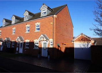 Thumbnail 3 bed end terrace house for sale in Hobby Way, Cannock