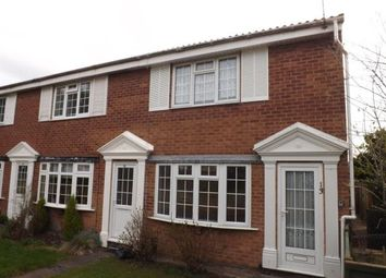 Thumbnail 2 bed end terrace house for sale in Oak Tree Close, West Bridgford, Nottingham, Nottinghamshire