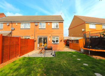 3 bed town house for sale in Smart Close, Thorpe Astley, Braunstone, Leicester LE3