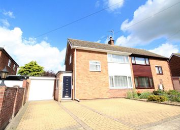 Thumbnail 3 bed semi-detached house for sale in Fairfax Gardens, Needham Market, Ipswich