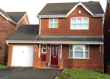 Thumbnail 3 bed detached house for sale in Barling Road, Leicester