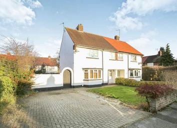 Thumbnail 3 bed semi-detached house for sale in Elm Crescent, Alderley Edge, Cheshire, Uk