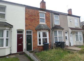 Thumbnail 2 bed terraced house for sale in Bellefield Avenue, Winson Green