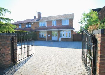 Thumbnail 4 bed semi-detached house for sale in Humber Avenue, South Ockendon