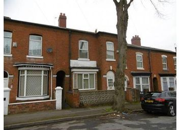Thumbnail 4 bed terraced house for sale in Rowley Street, Walsall