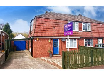 Thumbnail 3 bed semi-detached house for sale in Harrison Drive, Rochester