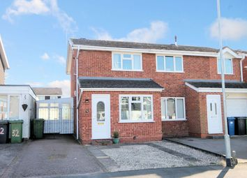 Thumbnail 2 bed semi-detached house for sale in Roach, Dosthill, Tamworth