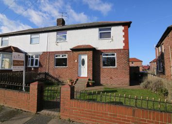 Thumbnail 4 bedroom semi-detached house for sale in Kielder Gardens, Jarrow