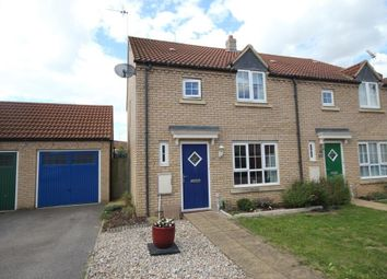Thumbnail 3 bedroom semi-detached house for sale in Turner Drive, Ely