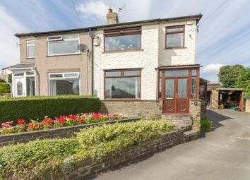 Thumbnail 3 bed semi-detached house for sale in Mount Crescent, Halifax