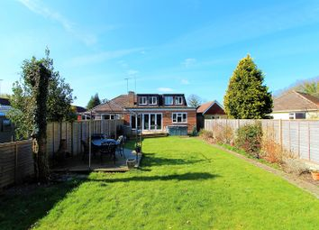 Thumbnail 4 bed semi-detached house for sale in Castle Drive, Horley, Surrey.