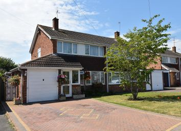 Thumbnail 3 bed semi-detached house for sale in Witton Avenue, Droitwich