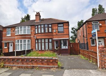 Thumbnail 3 bedroom semi-detached house for sale in Fairholme Road, Withington, Manchester