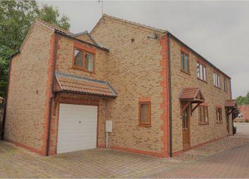 Thumbnail 4 bed semi-detached house for sale in Woodside Way, Grantham