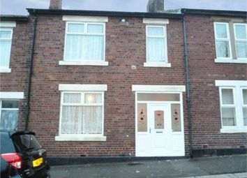 Thumbnail 3 bed terraced house for sale in Chatton Street, Wallsend, Tyne And Wear