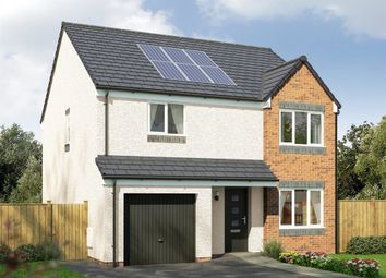 "Thumbnail 4 bed detached house for sale in ""The Balerno"" at Cupar Road, Guardbridge, St. Andrews"