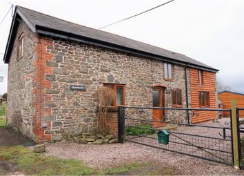 Thumbnail 2 bed barn conversion for sale in Llanwnog, Caersws