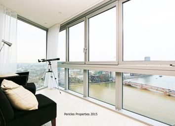 Thumbnail 3 bedroom flat to rent in The Tower, One St George Wharf SW8, London,