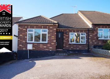 Thumbnail 3 bed semi-detached bungalow for sale in Bosworth Road, Leigh-On-Sea