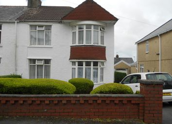 Thumbnail 3 bed semi-detached house to rent in St Catherines Road, Baglan, Port Talbot, Neath Port Talbot.